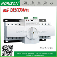 Professional 3P Side Operation Load Break Electric Isolator Switch 3 phase changeover switch