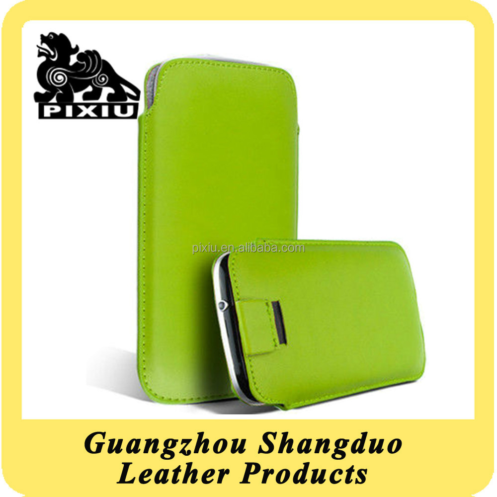 Manufacture Hot Selling New Leather Mobile Phone Showkoo Case