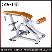 Plate loaded fitness equipment/Hammer strength/Exercise body building equipment of Porne Leg Curl