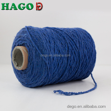 bleached OE polyester cotton blended recycled china mop yarn