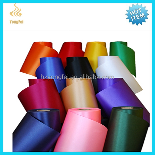 Cheap High Quality Polyester Satin Label Fabric