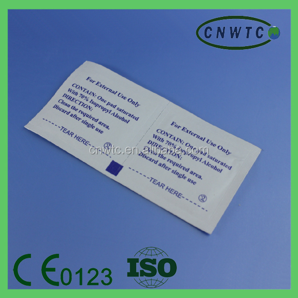 cheapest sterile clean 3x6cm alcohol pad