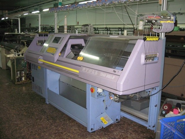 Used STOLL Flat Computerized Knitting Machines