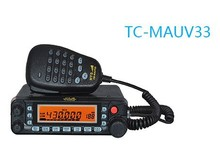 HYS Dual Band Mobile Two Way Radio TC-MAUV33 DTMF UHF/VHF With Large Screen Display