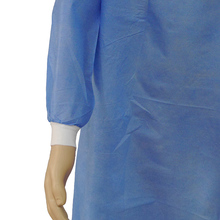 Material SMMS Spunlace cpe surgical gowns gown plastic