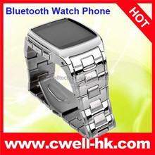New product TW810+ metal body hand watch mobile phone price