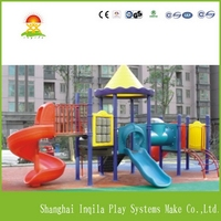 Contemporary manufacture outdoor playground plans