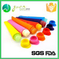 FDA silicone ice pop molds , ball shape wholesale personalized custom silicone ice cube tray ice pop maker popsicle mold