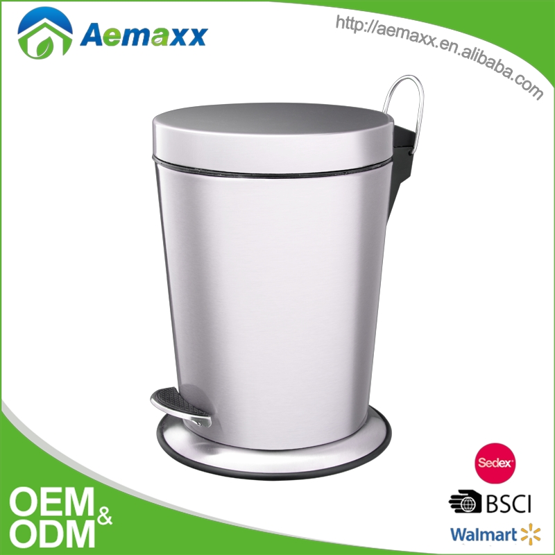 Aemaxx hot sell bulk wholesale plastic lid motion foot trash can