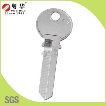 Factory price wholesale sales iron padlock key blank for key cutting machine