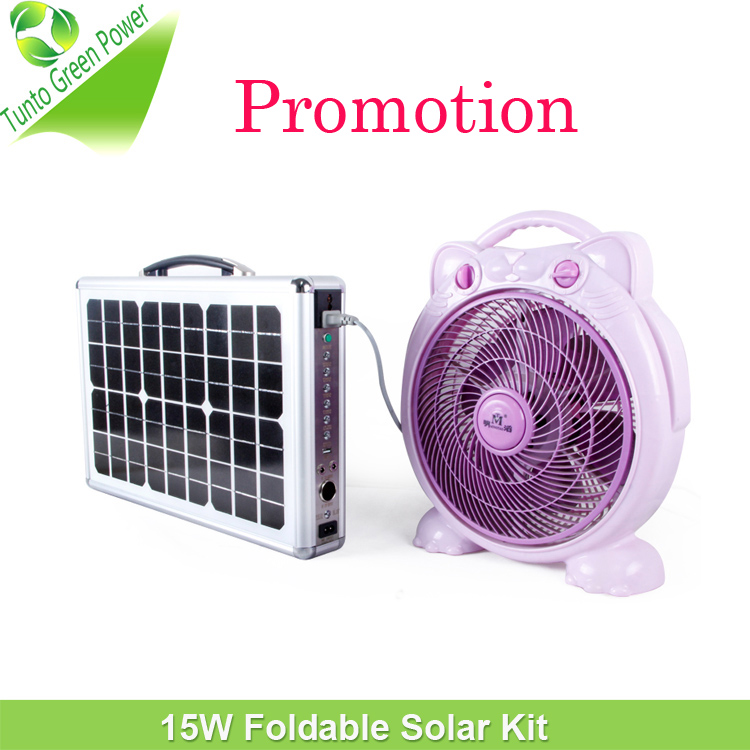 Portable Suitcase Solar Power <strong>Kit</strong> with Free Energy for Long Time 150W