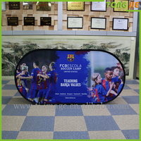 Fabric polyester wholesale Pop Up A Frame signs Outdoor Bean Banner