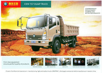 CDW 1 ton dump trucks for sale