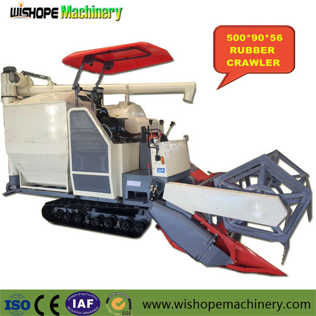 Paddy Agricultural Machine Combine Harvester Machinery for Rice Sales in India