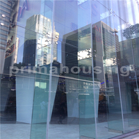 point fixing frameless glass exterior curtain wall made in China