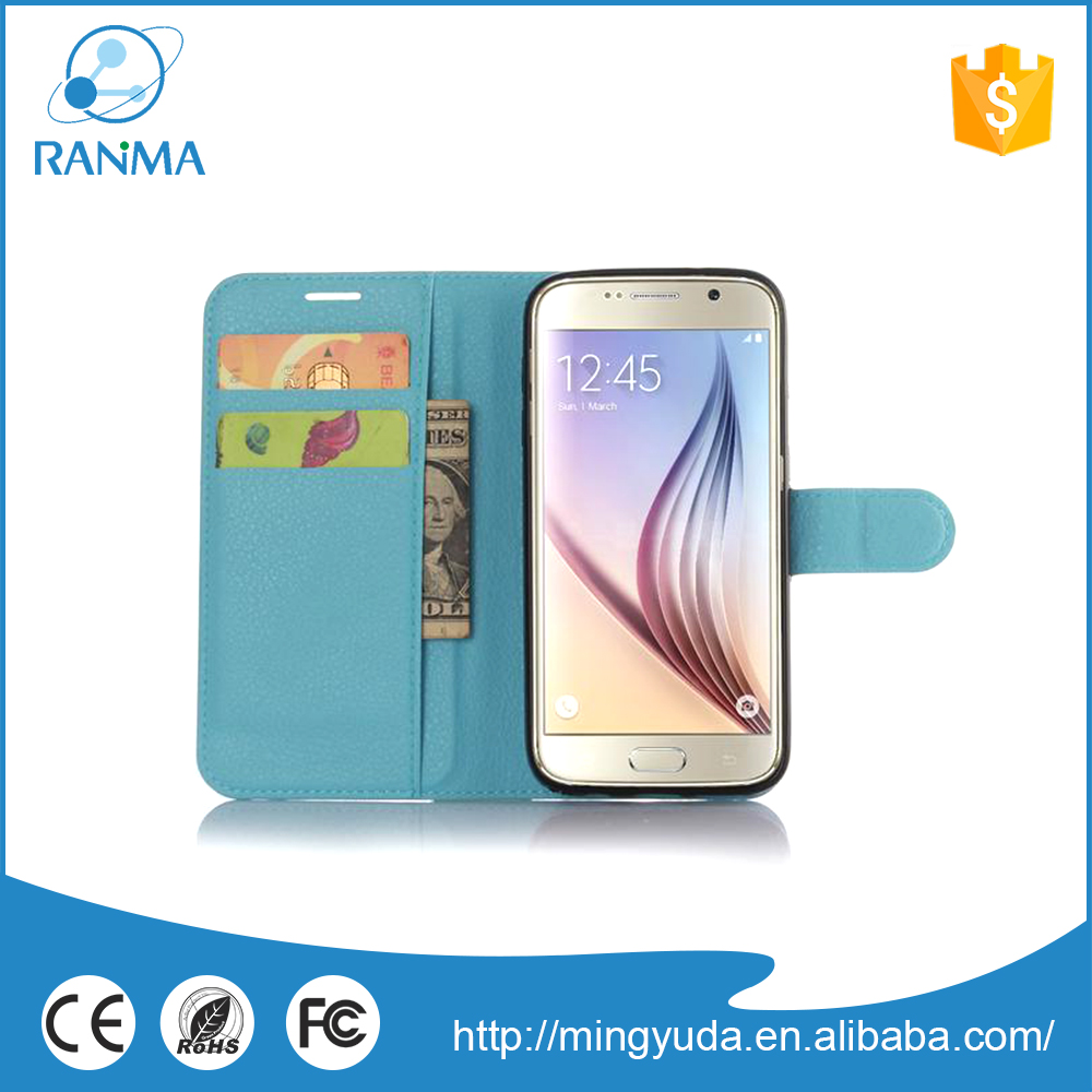 Top quality colorful leather mobile phone case for samsung