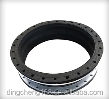 Steel Material Flange And Outer Epdm/nbr Type Rubber Black Joints