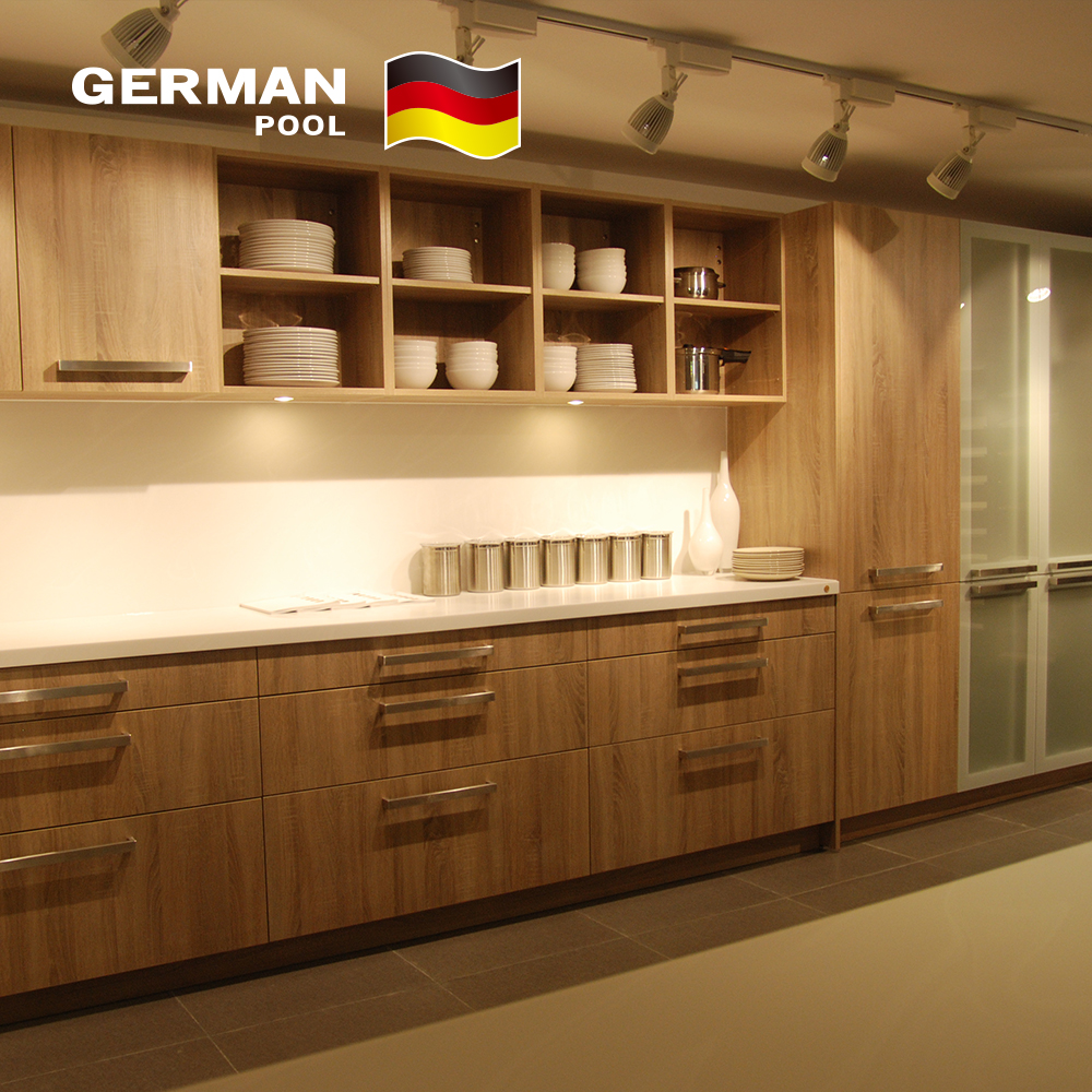 GermanPool Custom Grand Water proof Furniture Wood Lacquer Kitchen Cabinets