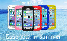 Hot sale wholesale PC + Silicone waterproof phone case for iphone 6