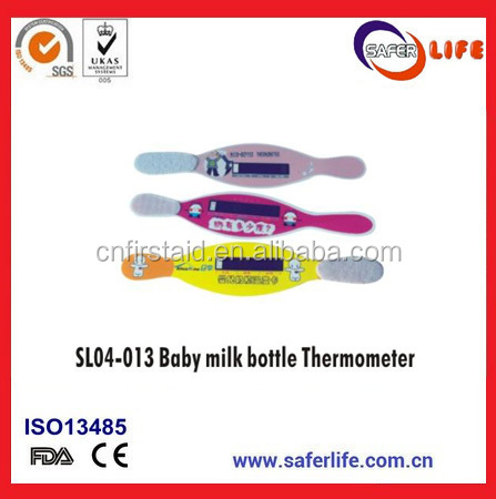 Latest Milk bottle Thermometer Temperature Indicating Tape Home Care Equipment For Baby
