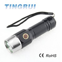 200 lumen Self Defense led Rechargeable Weapon Flashlight