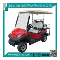 4 seater electric golf cart with rear flip flop seat