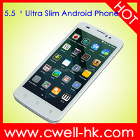 New arrival 8.5mm Ultra Slim Design X-BO O2 smartphone Cheap Big Screen Android Phone