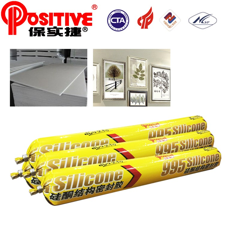 Hot Positive Decoration 590ml cleanglass mastic sealant