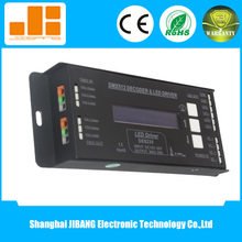 High compatible led controller 4ch dmx512 dimmer,4ch*5a Max20a