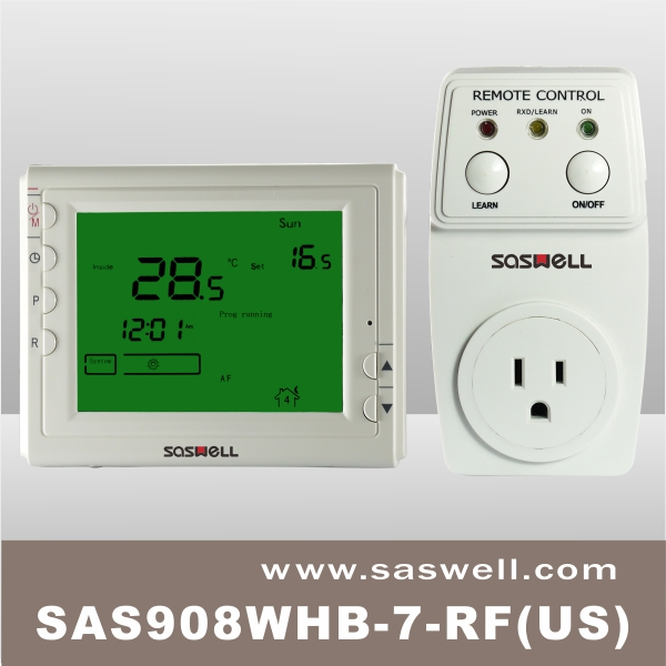 Multi zone control Plug in Wireless heating room thermostat
