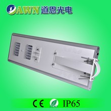 40W excellent motion sensor integrated all in one solar led street light usb charge light
