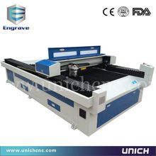fast speed LXJ1325 laser machine/co2 metal cutting laser auto following