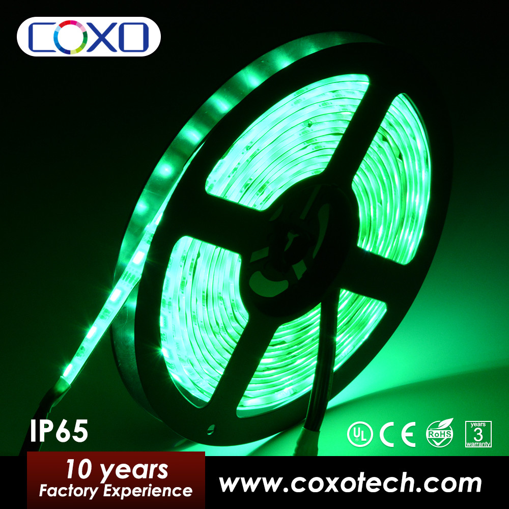 New Arrivals 300 Leds Orange Turquoise Amber RGB Color 5050 Led Strip