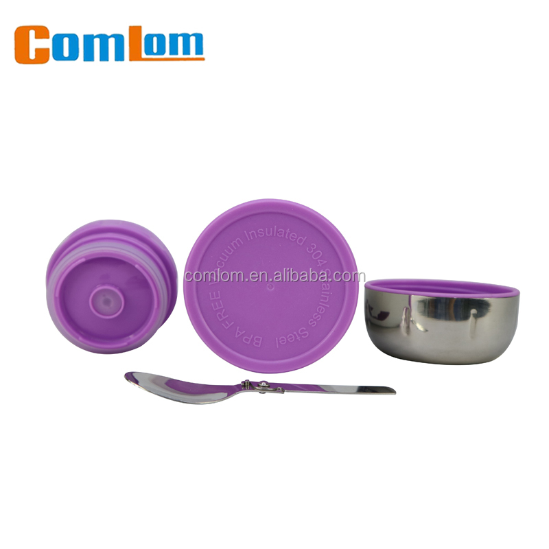 double wall stainless steel vacuum lunch box