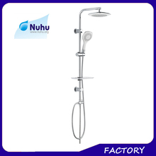 Shower Heads Bathroom Faucet Accessory Type and Without Diverter Bathroom Faucet Spout Feature shower support bar