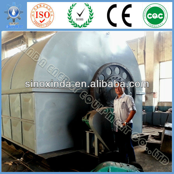 Best Supplier XD-12CAP tyre pyrolysis plant in pakistan