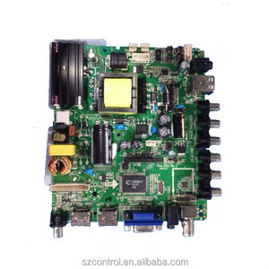 Universal LCD TV main controller board with HDMI+USB+VGA