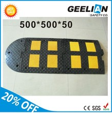 Geelian GL-SPP road Safety Traffic Calming Reflective Rubber&Plastic Speed Bump