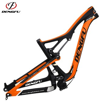 FM288 full suspension all Mountain bike MTB carbon frame 27.5er