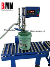 China weighing filling machine with semi-auto or full automation