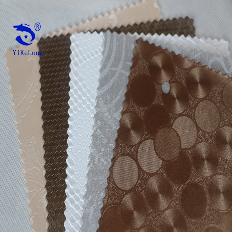 Various Design Available China Cheap Synthetic PVC Leather Stocklot