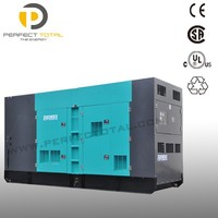 520KW diesel soundproof genset with Cummins engine