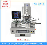 New technological Mobile ic repair tools equipment sv550 semi-auto bga rework station