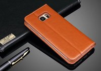 west cowboy hollow carving leather mobile phone case for samsung galaxy s7 edge