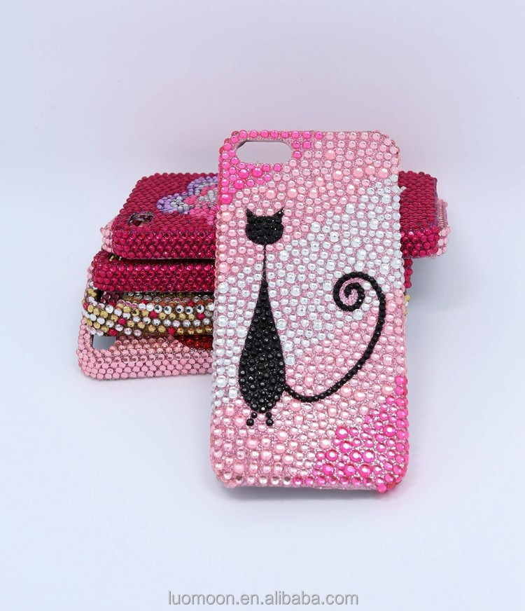 Customized Diamond Phone Protective Case for Iphone 5