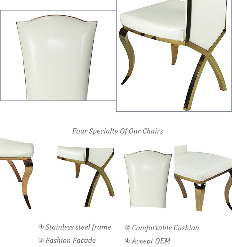 Cheap aluminum dining chair furniture dining room china dining chair for sale CY021