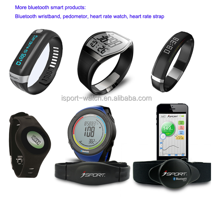 Unique Design White Black E-Ink Paper Finish Bluetooth Fitness Watch