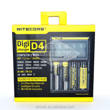 2016 New 18650 Charger Wholesale best Charger Nitecore Digi D4 Charger Wholesale From China