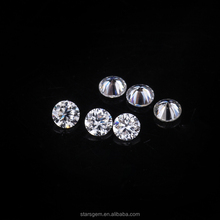 melee moissanite diamond 1.0-2.5mm small size round brilliant cut wholesale moissanite price per carat