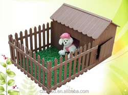 Weather Resistant And Comfortable WPC House For Pet